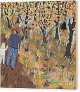 Mosscreek Trail Wood Print