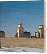 Mossleigh Alberta Wood Print