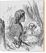 Mother And Child, 1873 Wood Print