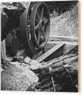 Motherlode Flywheel  Wood Print