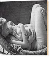 Mothers Love Wood Print by Laurence Oliver