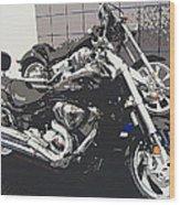 Motorcycle Ride - Five Wood Print