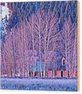 Moulton House Wood Print