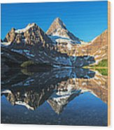 Mount Assiniboine Wood Print