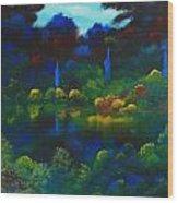Mount Auburn Wood Print