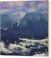 Mount Brooks Wood Print