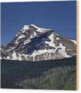 Mount Geduhn Livingston Range Glacier National Park Usa Wood Print