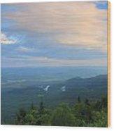 Mount Greylock Adams Overlook Wood Print
