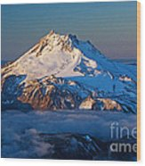 Mount Jefferson Wood Print
