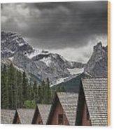 Mount Lougheed Wood Print
