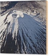 Mount Ngauruhoe Tongariro Np New Zealand Wood Print by Colin Monteath