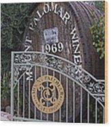 Mount Palomar Winery Wood Print