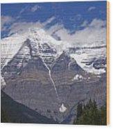 Mount Robson Wood Print