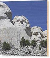 Mount Rushmore National Memorial, South Wood Print
