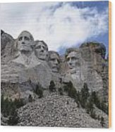 Mount Rushmore National Monument -2 Wood Print