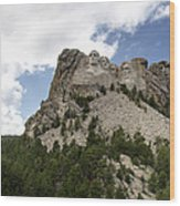 Mount Rushmore National Monument -3 Wood Print