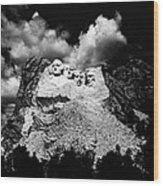 Mount Rushmore, Near Keystone, South Wood Print