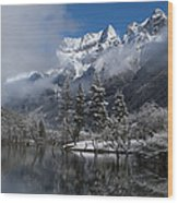 Mount Siguniang Is An Area Wood Print