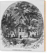 Mount Vernon, 1883 Wood Print