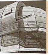 Mount Wilson Observatory Wood Print
