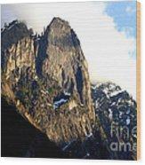 Mountains Of Yosemite . 7d6167 Wood Print