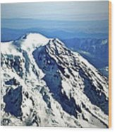 Mountaintop Of Our Desires Wood Print