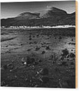 Mourne Mountains Newcastle County Down Northern Ireland Wood Print