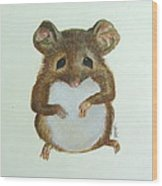Mouse Wood Print
