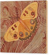 Movement Butterfly Wood Print