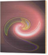 Moveonart Autumnlight Wood Print
