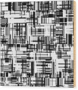Moveonart Barcoded Wood Print