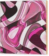 Moveonart Dramatique Wood Print