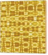 Moveonart Goldenblanket Wood Print