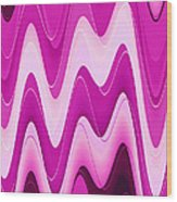 Moveonart Moodwaves Wood Print