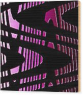 Moveonart Wavesfutureair Wood Print
