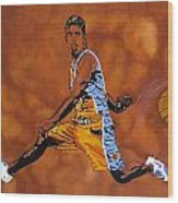Mr Assist Steve Nash Wood Print