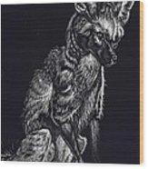 Mr. Big Ears Wood Print