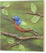 Mr. Bundting Wood Print