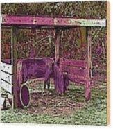 Mr. Nibble's New Home Wood Print