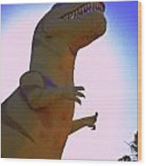 Mr. Rex 1 Wood Print