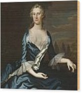 Mrs. Charles Carroll Of Annapolis Wood Print