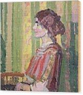 Mrs Robert Bevan Wood Print