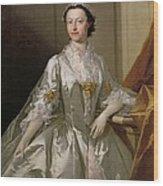 Mrs Wardle Wood Print