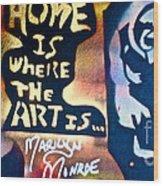 Ms. Marilyn Wood Print