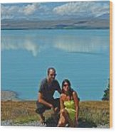 Mt. Cook Lake Wood Print