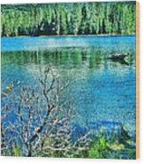 Mt Lassen Wood Print