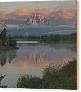 Mt. Moran Wood Print