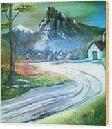 Mt. Of Hope Wood Print