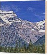 Mt. Robson, British Columbia Wood Print