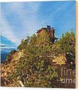 Mt Scott Fire Tower Wood Print